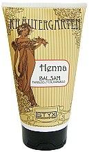 Parfumuri și produse cosmetice Balsam de păr Henna, incolor - Styx Naturcosmetic Henna Balsam