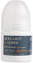 Parfumuri și produse cosmetice Bath House Bergamot & Amber - Deodorant