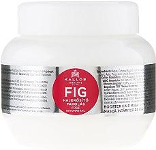 Parfumuri și produse cosmetice Mască pe bază de vitamine pentru păr - Kallos Cosmetics FIG Booster Hair Mask With Fig Extract