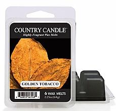Parfumuri și produse cosmetice Ceară aromată - Country Candle Golden Tobacco Wax Melts
