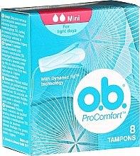 Parfumuri și produse cosmetice Tampoane, 8 bucăți - O.b. ProComfort Mini Dynamic Fit Tampons