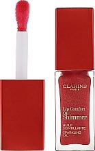 Parfumuri și produse cosmetice Ulei-luciu pentru buze, strălucitor - Clarins Lip Comfort Oil Shimmer