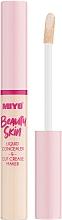 Parfumuri și produse cosmetice Concealer - Miyo Beauty Skin Liquid Concealer & Cut Crease Maker (01 -Hello Cream)