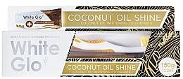 Parfumuri și produse cosmetice Set - White Glo Coconut Oil Shine (toothpaste/120ml + toothbrush)