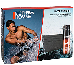 Parfumuri și produse cosmetice Set - Biotherm Set Homme Total Recharge (gel/50ml + case)