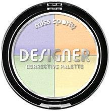 Parfumuri și produse cosmetice Corector de față - Miss Sporty Designer Corrective Palette (001 -Light)