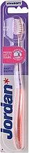 Parfumuri și produse cosmetice Periuță de dinți Target, moale, roz - Jordan Target Sensitive Ultrasoft