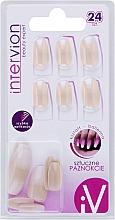 Parfumuri și produse cosmetice Unghii false, 498763, 24 buc - Inter-Vion