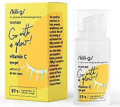 Parfumuri și produse cosmetice Gel cu Vitamina C pentru zona din jurul ochilor - Kili·g Woman Eye Gel