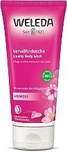Parfumuri și produse cosmetice Gel anti-îmbătrânire cu trandafir pentru duș - Weleda Wildrosen Verwohndusche