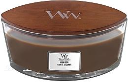 Parfumuri și produse cosmetice Lumânare aromată în suport de sticlă - WoodWick Humidor Ellipse Scented Candle