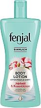 Parfumuri și produse cosmetice Loțiune cu ulei de jojoba și petale de trandafir pentru corp - Fenjal Body Lotion Sensual With Jojoba Oil And Rose Petals