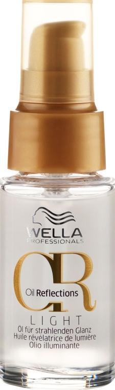 Ulei pentru strălucirea părului - Wella Professionals Oil Reflection Light