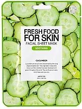 """Parfumuri și produse cosmetice Mască din țesut """"Castravete"""" pentru față - Superfood For Skin Facial Sheet Mask Cucumber Soothing"""