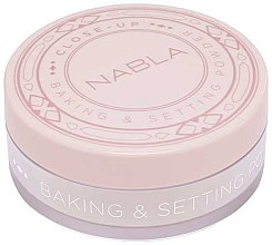Parfumuri și produse cosmetice Pudră de față - Nabla Close-Up Baking Setting Powder