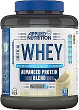 """Parfumuri și produse cosmetice Amestec de proteine """"Înghețată de vanilie"""" - Applied Nutrition Critical Whey Advanced Protein Blend Vanilla Ice Cream"""
