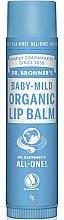 Parfumuri și produse cosmetice Balsam de buze pentru copii - Dr. Bronner's Baby-Mild Lip Balm