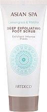 Parfumuri și produse cosmetice Scrub pentru picioare - Artdeco Asian Spa Deep Exfoliating Foot Scrub