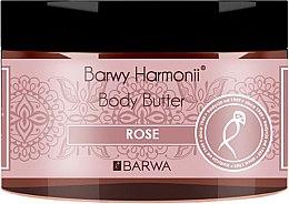 "Parfumuri și produse cosmetice Ulei de corp ""Trandafir"" - Barwa Harmony Body Butter Rose"