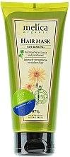 Parfumuri și produse cosmetice Mască nutritivă cu extracte de plante și pantenol pentru păr - Melica Organic Nourishing Hair Mask