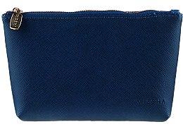 Trusă cosmetică, albastră - Missha The Saffiano Multi Pouch II — Imagine N1