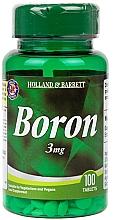 "Parfumuri și produse cosmetice Supliment alimentar ""Bor"" - Holland & Barrett Boron 3mg"