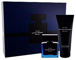 Parfumuri și produse cosmetice Narciso Rodriguez For Him Bleu Noir - Set (edp/50ml + sh/gel/200ml)