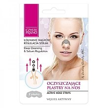 Parfumuri și produse cosmetice Plasture pentru îndepărtarea punctelor negre de la nas - Czyste Piekno Nose Pack