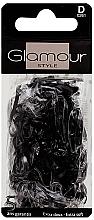 Духи, Парфюмерия, косметика Резинки для волос, 0261, черные - Glamour