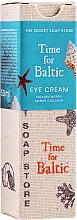 Parfumuri și produse cosmetice Cremă cu chihlimbar pentru pleoape - The Secret Soap Store Time For Baltic