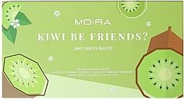 Parfumuri și produse cosmetice Paletă fard de ochi - Moira Kiwi Be Friends? Pressed Pigments Palette