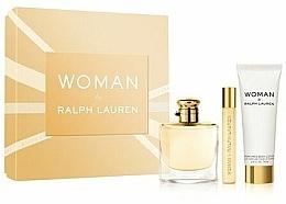 Parfumuri și produse cosmetice Ralph Lauren Woman By Ralph Lauren - Set (edp/50ml+edp/10ml+b/lot/50ml)