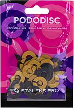 Parfumuri și produse cosmetice Inel abraziv pentru disc de pedichiură, S, 320 grit - Staleks