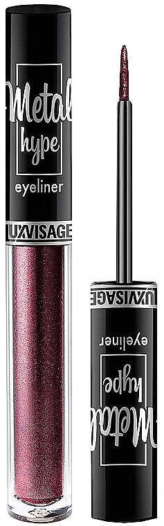Eyeliner colorat - Luxvisage Metal Hype Eyeliner