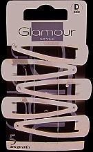 Parfumuri și produse cosmetice Agrafe de păr, 308, negre - Glamour