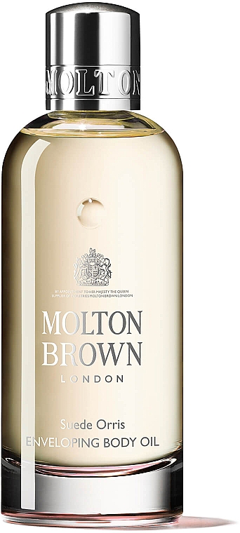 Molton Brown Suede Orris Enveloping Body Oil - Ulei de macadamia  — Imagine N1