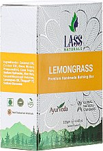 "Parfumuri și produse cosmetice Săpun natural ""Orange și Lemongrass"" - Lass Naturals Orange & Lemongrass Soap"