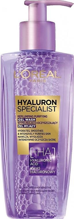 Gel de curățare pentru față - L'Oreal Paris Hyaluron Expert