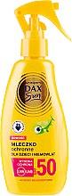 Parfumuri și produse cosmetice Lapte protector solar pentru copii - DAX Sun Body Lotion SPF 50