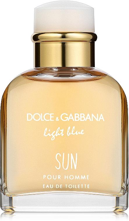 Dolce & Gabbana Light Blue Sun Pour Homme - Apă de toaletă