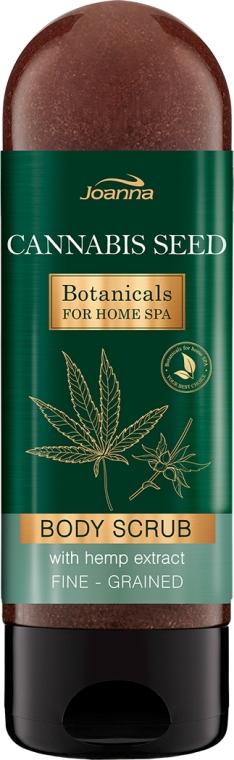 Scrub hidratant de corp - Joanna Botanicals For Home Spa Cannabis Seed Peeling
