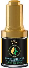 """Parfumuri și produse cosmetice Ser de noapte pentru față """"Green Tea Detox"""" - VCee Overnight Skin Concentrate Green Tea Detox"""