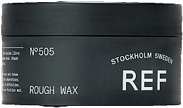 Parfumuri și produse cosmetice Ceară pentru păr cu fixare puternică - REF Rough Wax