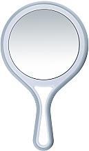 Parfumuri și produse cosmetice Oglindă cu două fețe, cu mâner, d 12,5 cm - Titania