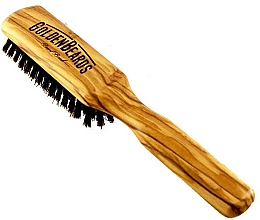 Parfumuri și produse cosmetice Perie pentru barbă, 20 cm - Golden Beards Beard Brush