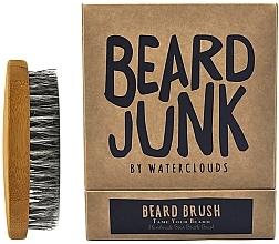 Parfumuri și produse cosmetice Perie pentru barbă - Waterclouds Beard Junk Beard Boar Bristle Brush