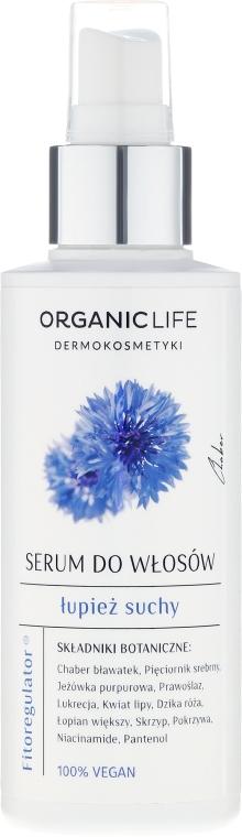 Ser pentru părul uscat - Organic Life Dermocosmetics Serum — Imagine N1
