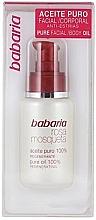 Parfumuri și produse cosmetice Ulei de măceșe pentru față - Babaria Rosa Mosqueta Oil