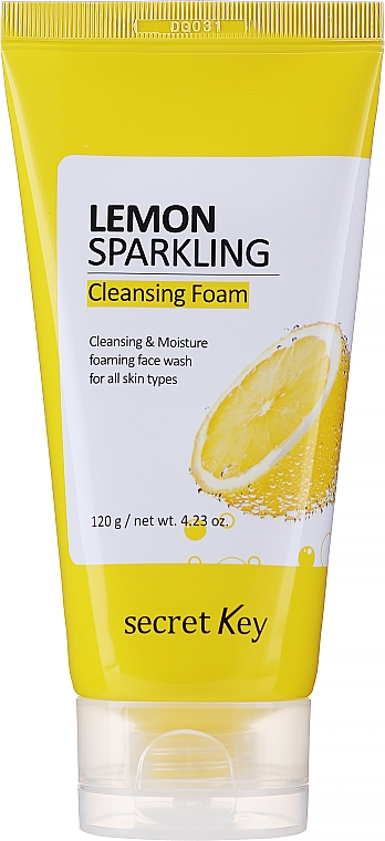 Spumă de curățare cu extract de lămâie - Secret Key Lemon Sparkling Cleansing Foam
