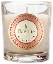 "Parfumuri și produse cosmetice Lumânare aromatică ""Vanilie și Zmeură"" - Flagolie Fragranced Candle Vanilla And Raspberry"